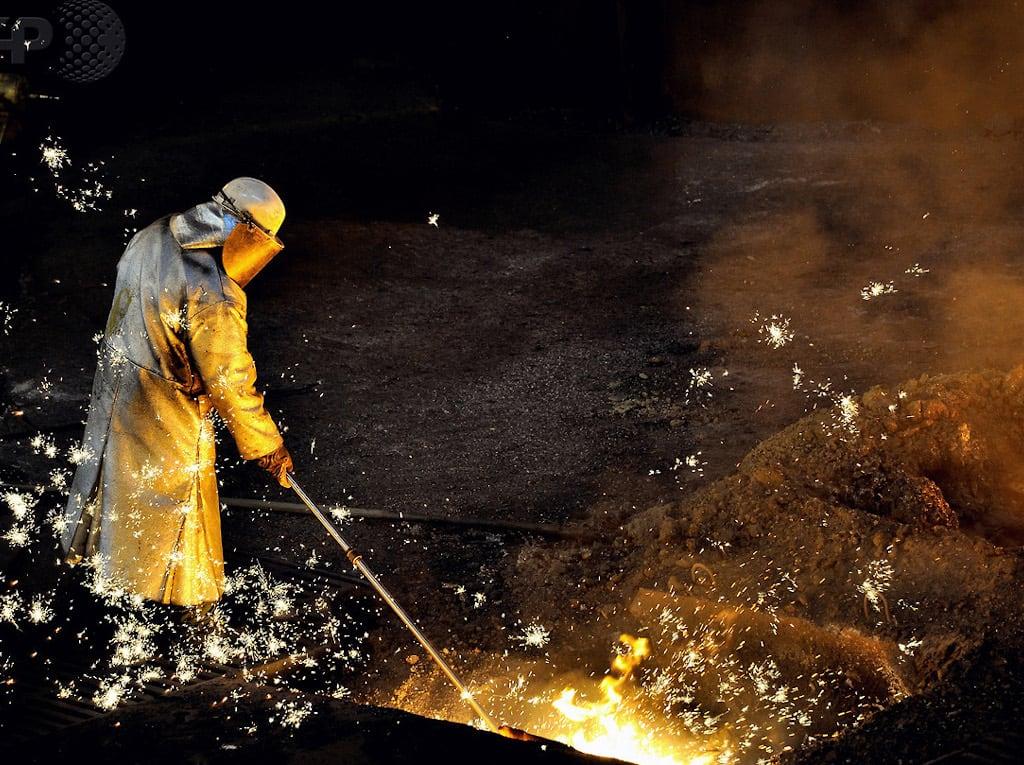 Arcelormittal Stahlarbeiten