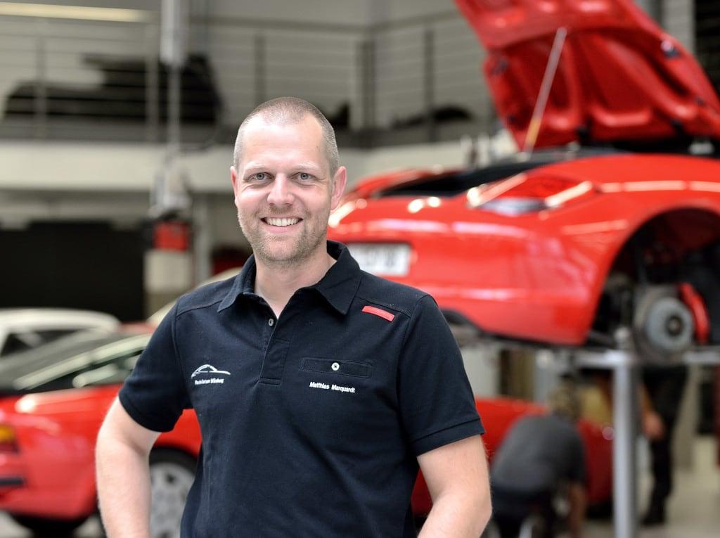 Porsche Leiter Aftersales