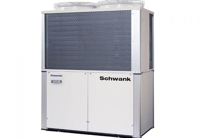Produktbild der Gaswärmepumpe ECO-G GE3 der Firma Schwank.