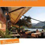 Titelbild der Schwank Terrassenheizung Broschüre.