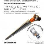 Titelbild der technische Anleitung einer infraSchwank D / calorSchwank D.