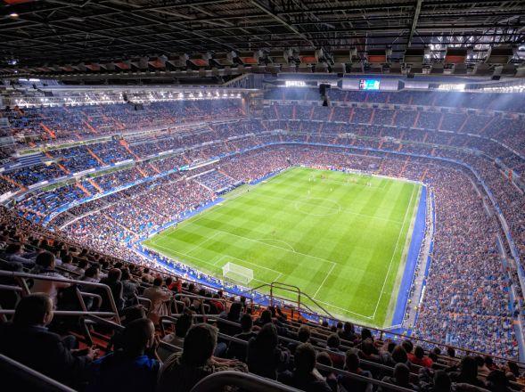 Die Schwank Stadionheizung im Stadion von Real Madrid.